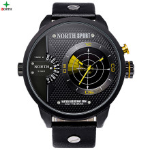 Wholesale Luxury Top Quality Multi Function Double Time and Double Face Sport Watch