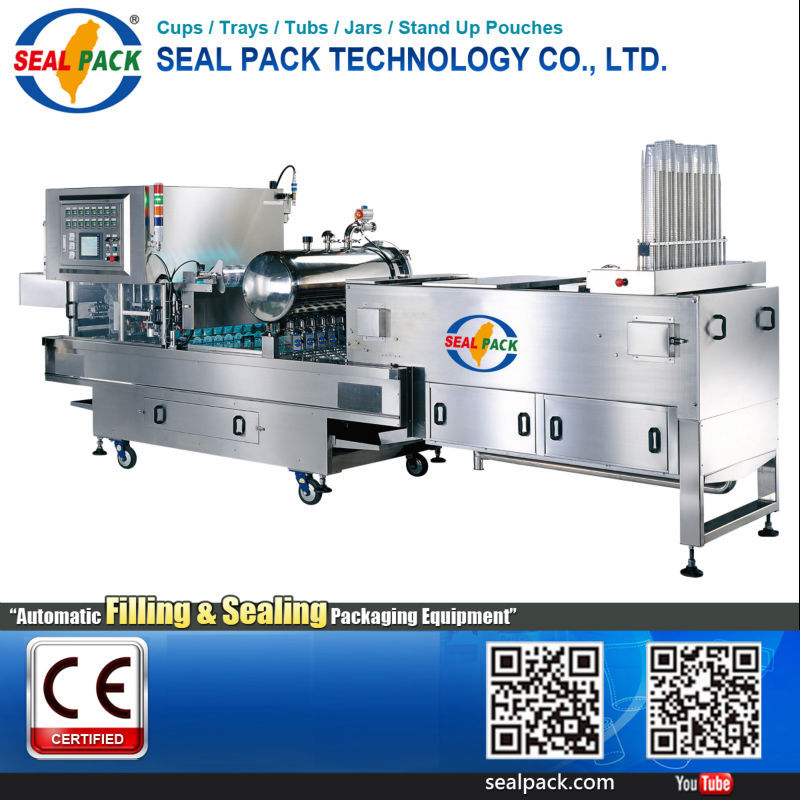 Taiwan Best Automatic Cup Filling Sealing machine manufacturers