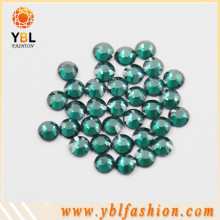 High quality Emerald color hotfix motif rhinestone store