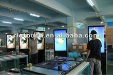 Attractive LCD advertising player to interactive with customer