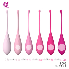 Intimate Kegel Exercise Weights Rose pink, Doctor Recommended for Bladder Control & Pelvic Floor Exercises - Set of 6