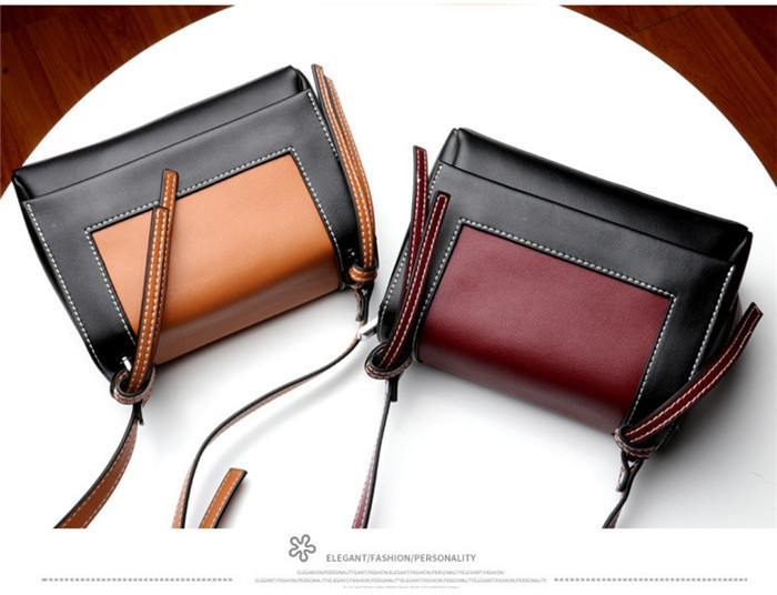 Latest Design genuine leather lady shoulder bag women bags_6