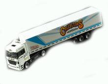 2018 new hot OEM custom high quality diecast 1:87 truck model color alloy die cast toy truck toy