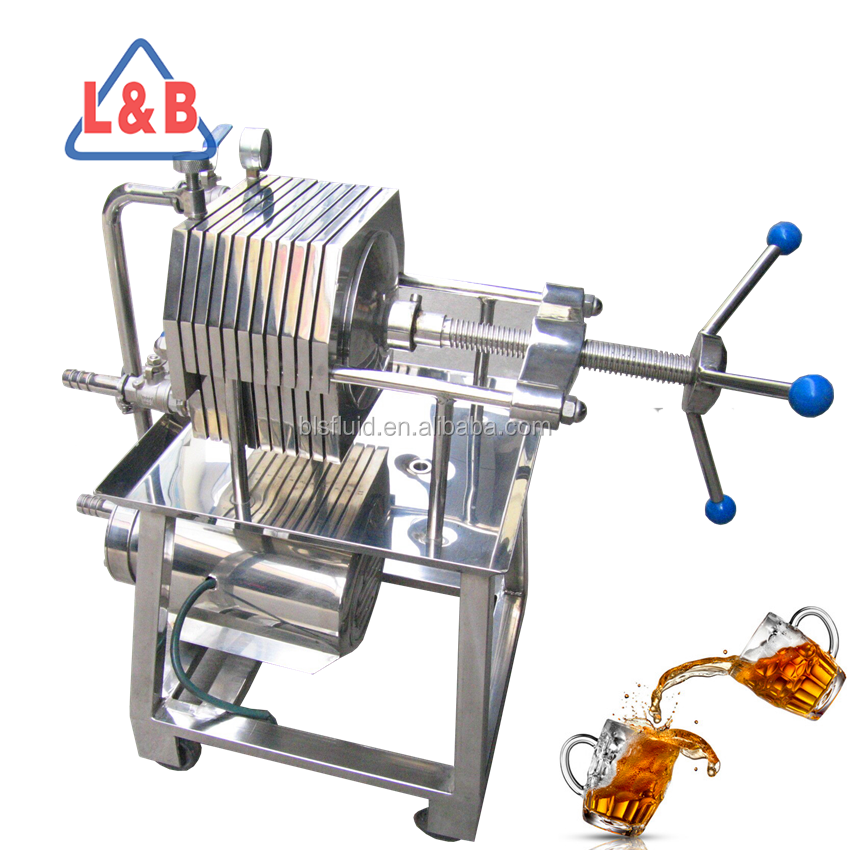 Zhejiang L&B highly effective medicine syrup glucose wine filter press