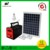 10W portable solar camping radio lighting system with 3*3W durable E27 bulbs
