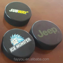 vulcanized ice hockey puck, rubber puck