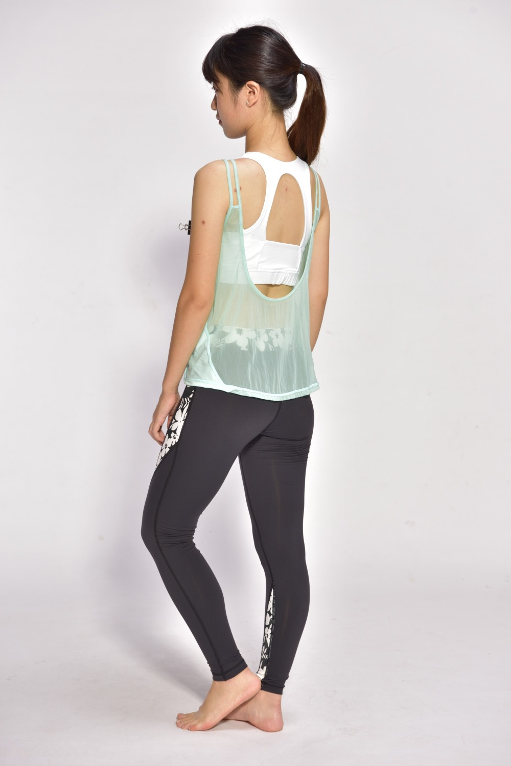 Wholesale Fashion Sexy Lace Sport Yoga Tank Yoga Wear