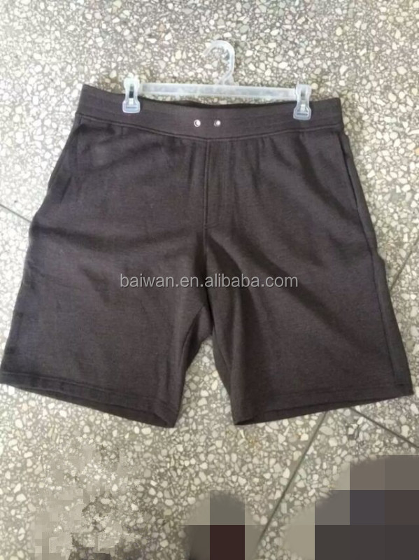 Men sports shorts pants garment surplus factory
