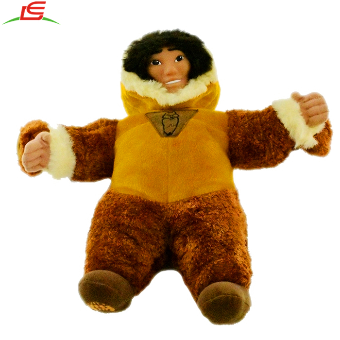 Rare Kenai Brother Bear Talking Reversable Plush Soft Toy