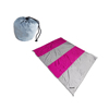 Sand Escape Compact Outdoor Parachute Beach Blanket / Nylon Sand Free Picnic Mat
