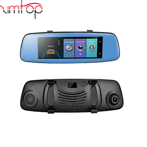 E06 4G Car Dvr 7.84 Inch Touch Adas Remote Monitor Rear View Mirror With GPS And Camera Android Dual Lens 1080P Wifi Dash Cam