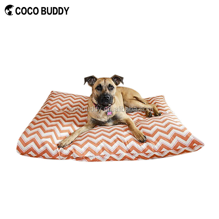 Top Selling Memory Foam Printed Fabric Dog Bed Luxury