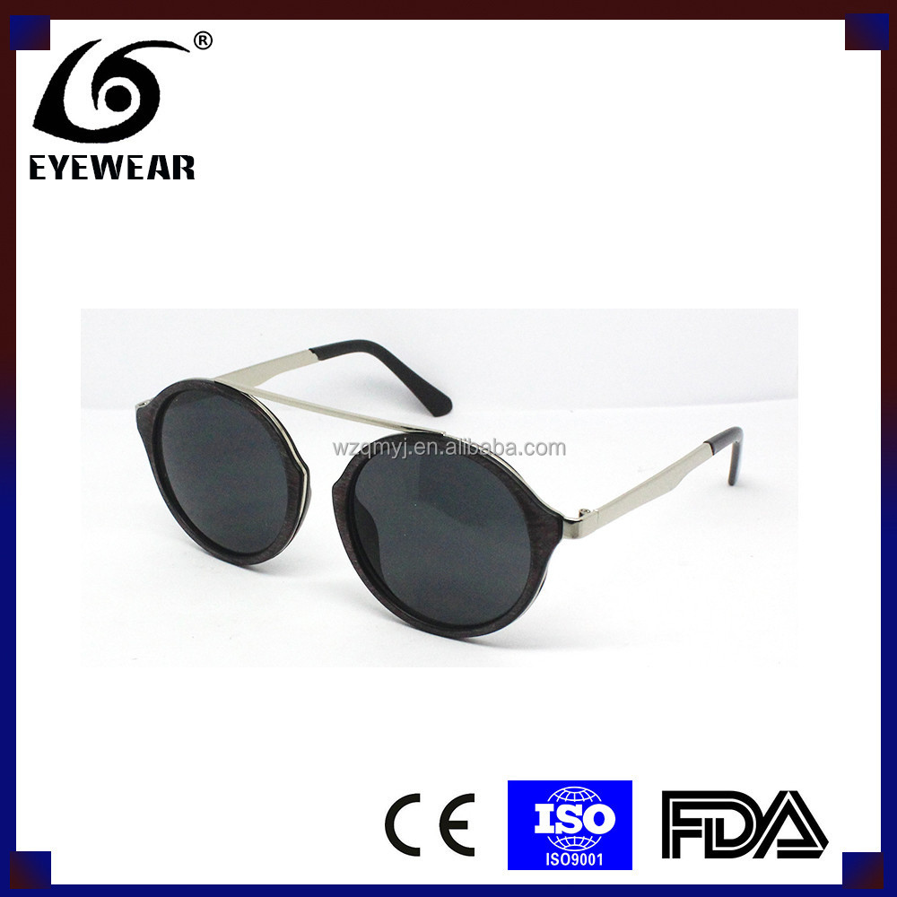 5737 Plastic sunglasses, Fashion Mirror Lens cat eye plastic women sunglasses