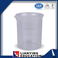 Laboratory 1000ml Plastic Measuring Beaker