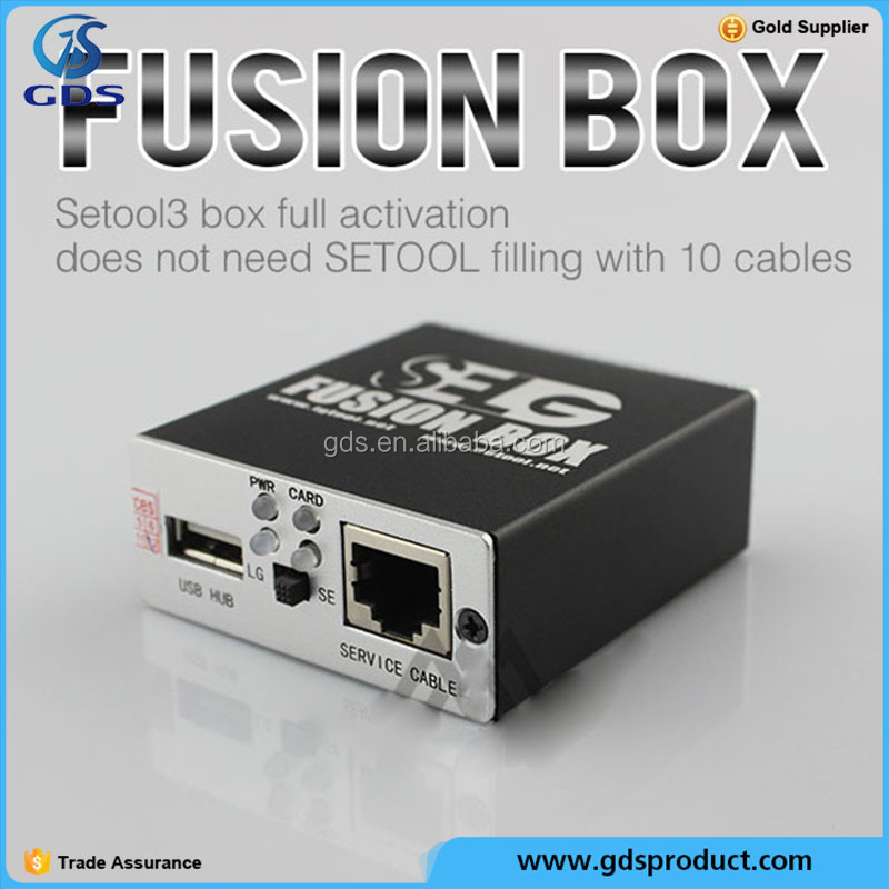 unlocking tool Fusion box with 10pcs cable