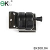 Stainless steel swimming pool fencing glass door latch