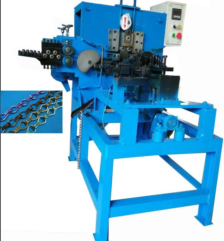 2017 Brand New Competitive price Double Hook Chain Making Machine
