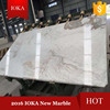 2016 New White Marble with Grey Veins Slabs & Tiles