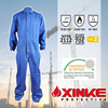 Xinke offshore welding working fire retardant safety aramid/nomex coverall for oil and gas work