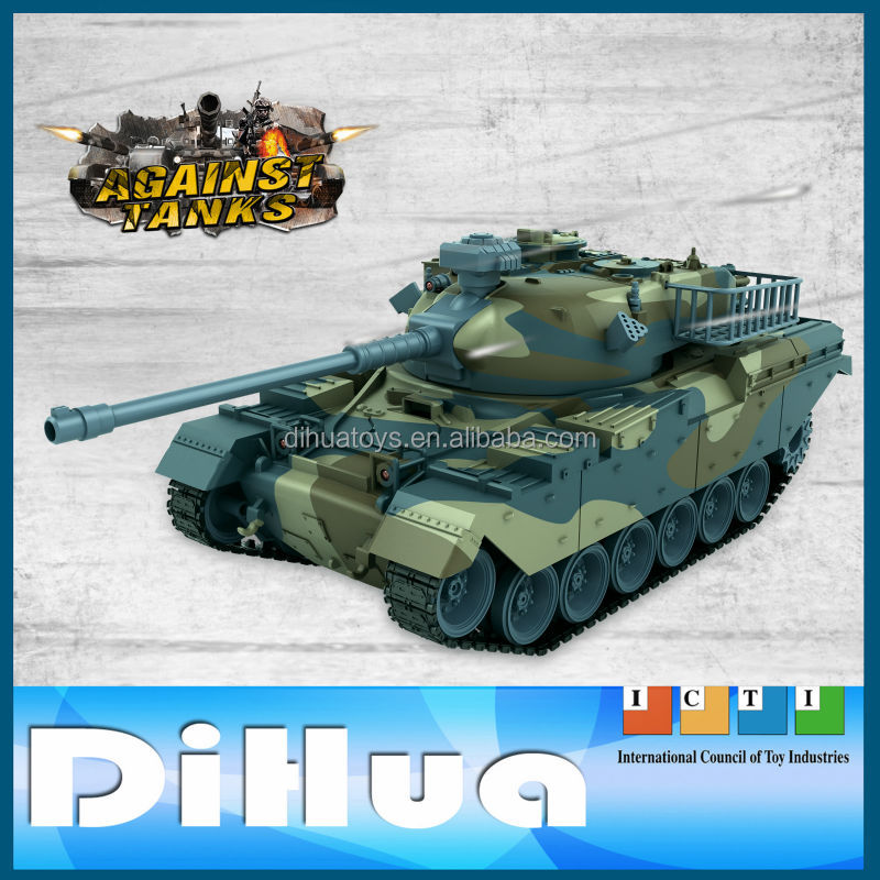 Hot Sale 1:18 Full Metal RC Tank