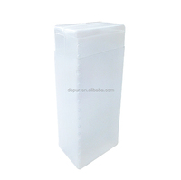 PVC square plastic tube packaging made in china