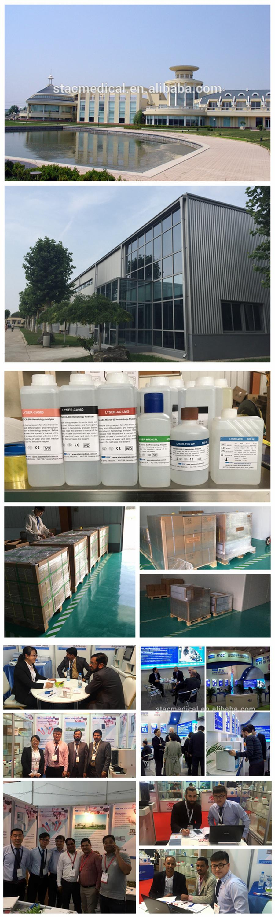 Hematology Reagents for Mindray BC1800/3000/3000PLUS