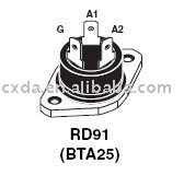 Integrated Circuits BTA25-600B IC CHIP