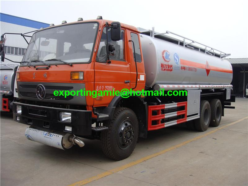 lowest price 2016 high quality 6 wheeler 18 tons new fuel truck capacity