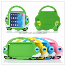 Newest Cartoon Stand Kids EVA Foam tablet with handle Silicon Case for ipad mini