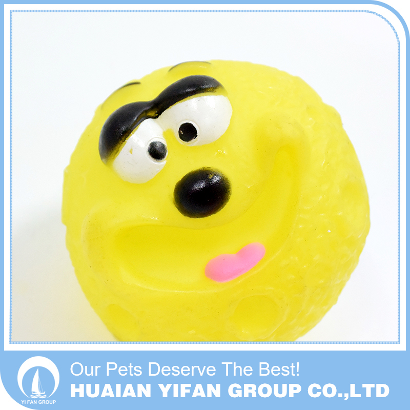 Variety of color optional Big mouth ball dog toy ball
