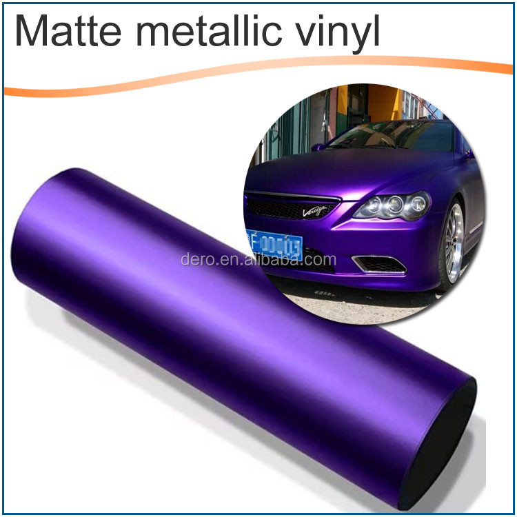 Dero new product ! Light Blue Color Matte Metallic Brushed Auto car body covers sticker
