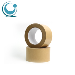 Custom non adhesive print packing kraft paper gum tape