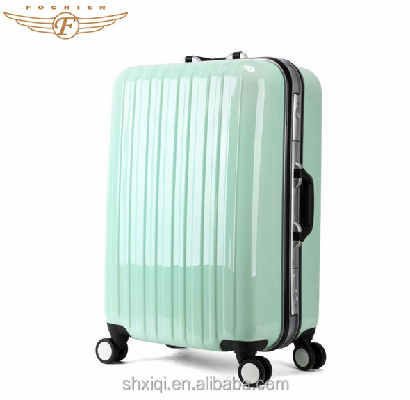 Hard Shell Aluminum Frame Summer Vacation Leisure International Luggage
