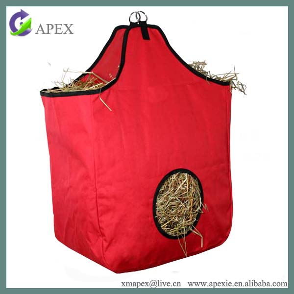 Horse hay bags feeder hay for horses with air ventilation holes
