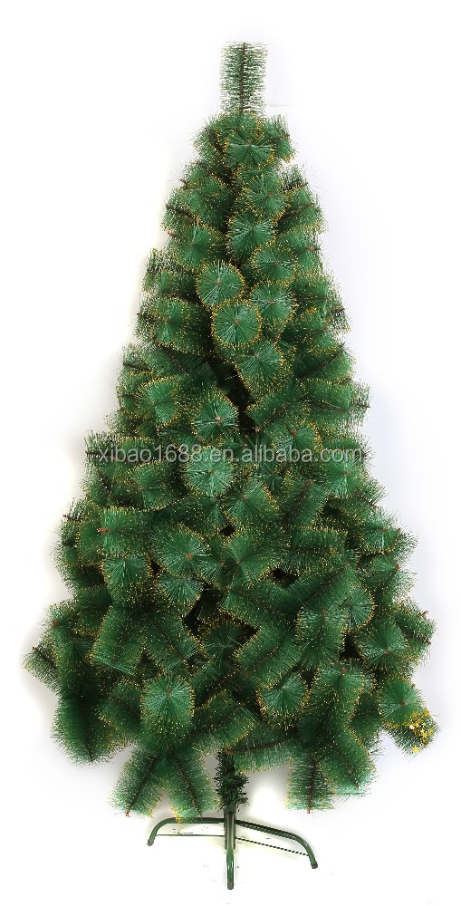 6FT Hot selling pine needle christmas tree, high quality and best price christmas tree for decoration