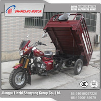 Loncin 200CC Water-Cooled Engine 3 Wheel China Cargo Tricycle Three Wheeler Goods Delivery Vehicle Dealer In WUXI China