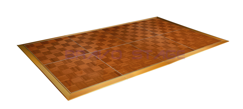 Easy Lay Wooden Portable Dance Floor For Events