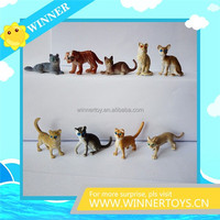 High quality plastic cat action figure