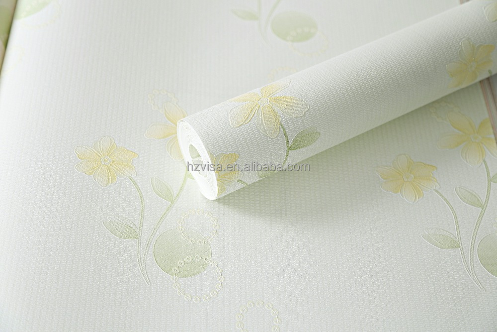 Manufacture new arrivals wall paper floral pattern Nonwoven Wallpaper