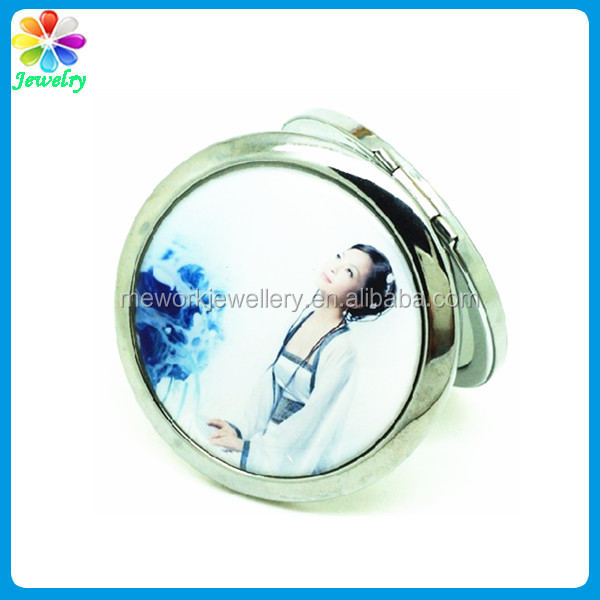 Beauty NEW Retro Women Ladies Cosmetic Compact Makeup Hand Mirror