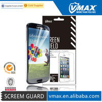 Mobile phone screen protection film for Samsung s4 oem/odm