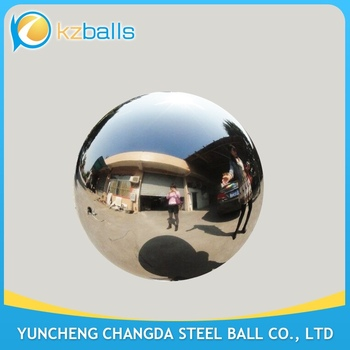 no welding line mirror finished 750mm polished stainless steel sphere