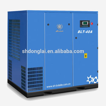 electric atlas screw air compressor machine for industry