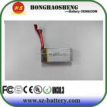 HOT sell recharge Lipo 7.4V 1000mAh Lithium Battery for rc plane U818s