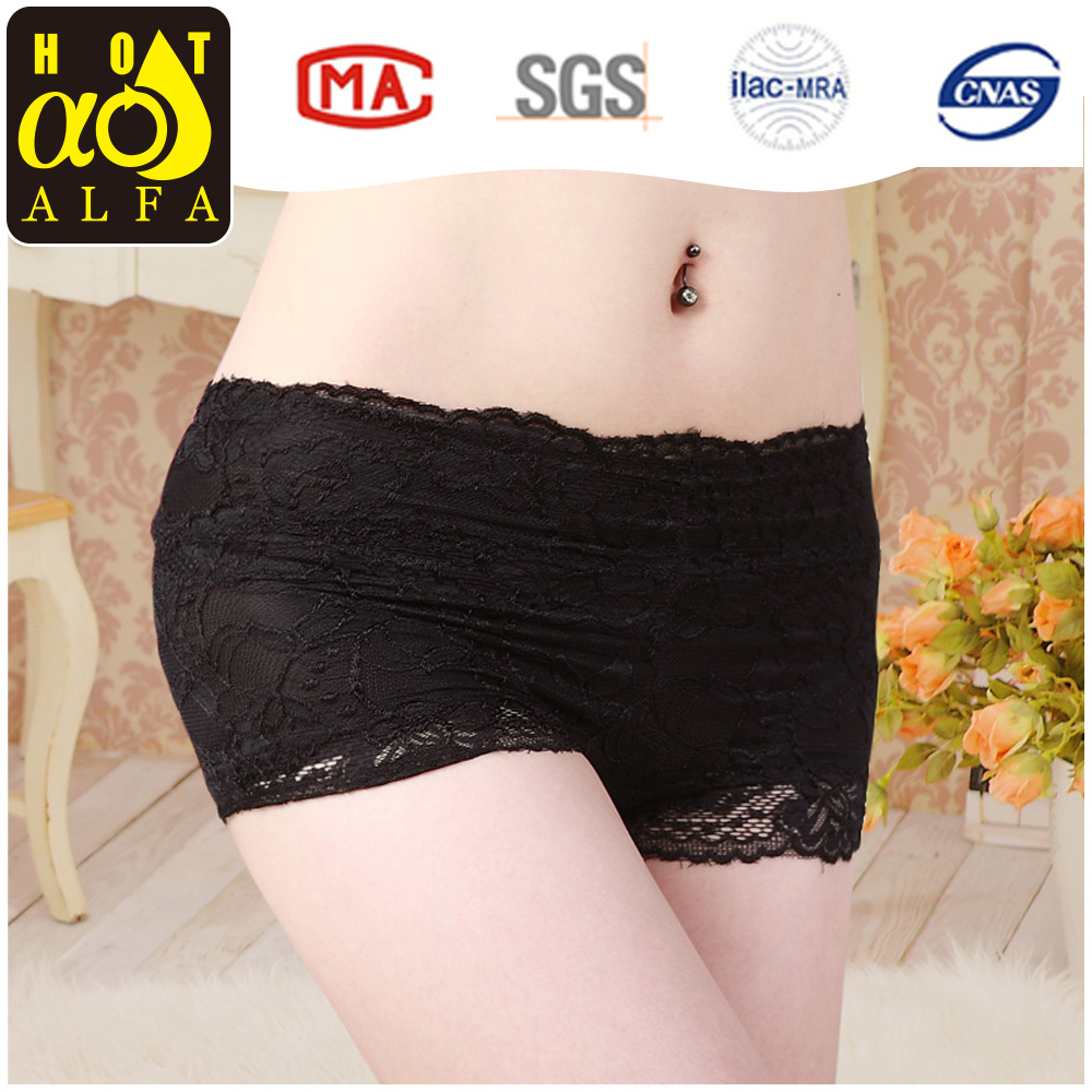 Hot sales sweety boyshort ladies sexy lingeries underwear for fat women K70