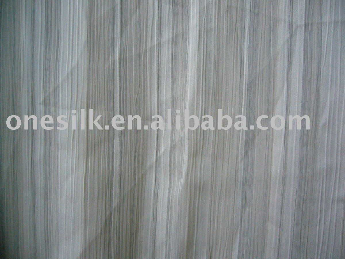 Crushed polyster chiffon fabric for dress/costume