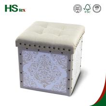 HStex home storage leather pouffe beautiful folding pouffe for shoes