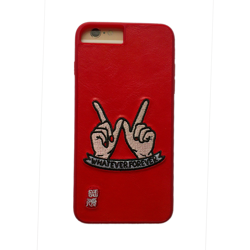 Free sample embroidery phone case / durable mobile phone shell