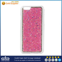 2015 Hot Sale Diamonds Back Cover PC Hard Case for iPhone 6