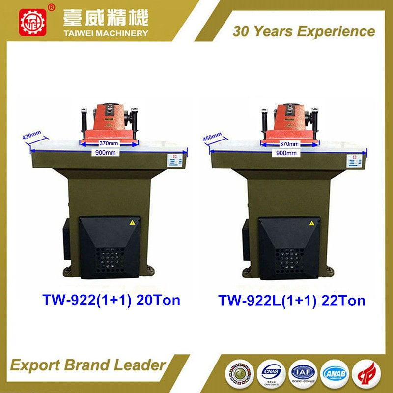 TW-588/3 25T/Oil dynamic cutting presses with movable trolley